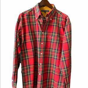 Tommy Hilfiger plaid tartan Shirt